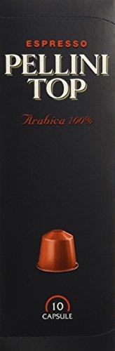Pellini Caffè Top Arabica (12 astucci da 10 capsule - totale 120 capsule), compatibili Nespresso