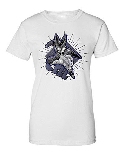 Great Cell | Dragon Ball | Osom DBZ | Popular Manga | Anime Series | Cool T Shirt | Nice To | Super | Hero Power | Like A | Yolo Swag Camiseta de Mujer X-Large