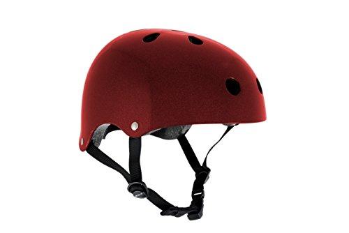 sfr-essentials-casco-para-patinaje-o-ciclismo-rojo-metalizado-talla53-56cm