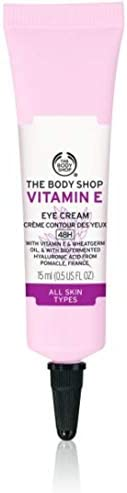 The Body Shop Moisturizing Eye Cream Vitamin E 15ml - helps to reduce the appearance of fine lines and dark circles