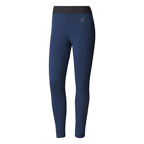 Adidas ESS 3 s Tight Leggings für Damen S blau (Maruni / schwarz)