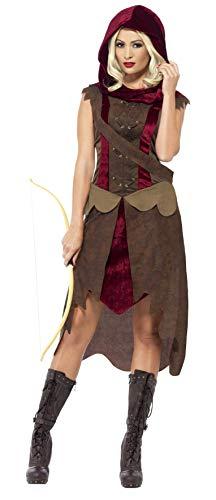 rin Kostüm, Kleid, Kapuze und Gürtel, Größe: L, 43720 ()