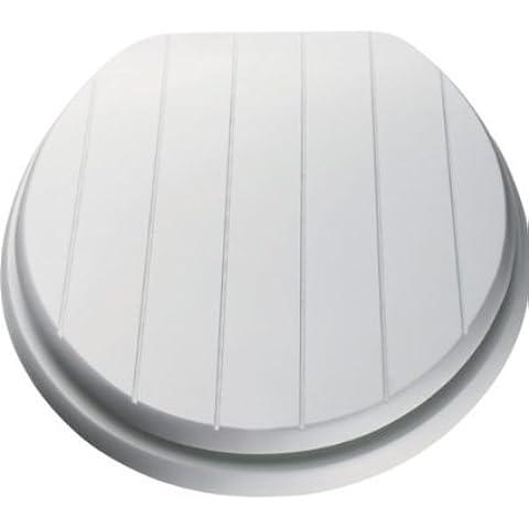 Brand New Bianco in Stile Sedile WC