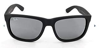 RAY BAN - 4165 - Lunettes de soleil Homme, Rubber Black/Grey Mirror Silver (B00S4QICSE) | Amazon price tracker / tracking, Amazon price history charts, Amazon price watches, Amazon price drop alerts