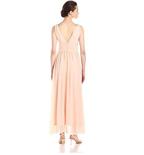 Drasawee - Robe - Trapèze - Femme Abricot