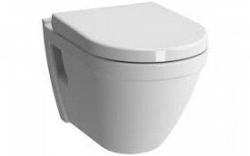 TOP VitrA Design S50 Wand-WC, Tiefspüler mit WC-Sitz (Toto Wc-schüssel)