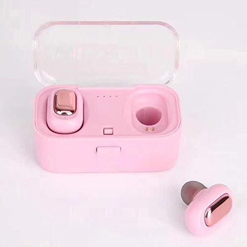 TWS Bluetooth Headset 5.0 Zwei-Ohr-echte Drahtlose Stereo TWS Mini-Ohr-in-Ohr-kopfhörer rosa Rosa Bluetooth Headset