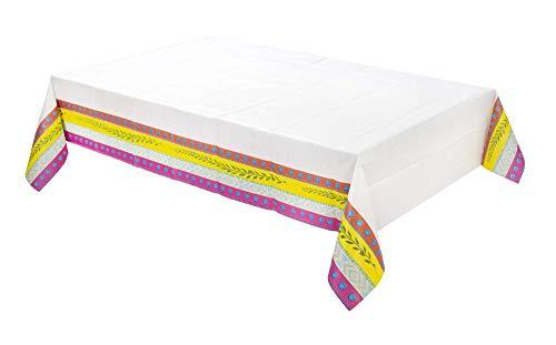 Talking Tables TCOVER Boho Nappe 180 x 120 cm Multicolore