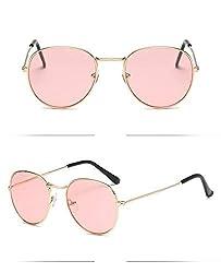 50 Shades UV 400 Round Shape Womens Sunglasses(EE-1C8B-YBCC| Pink)