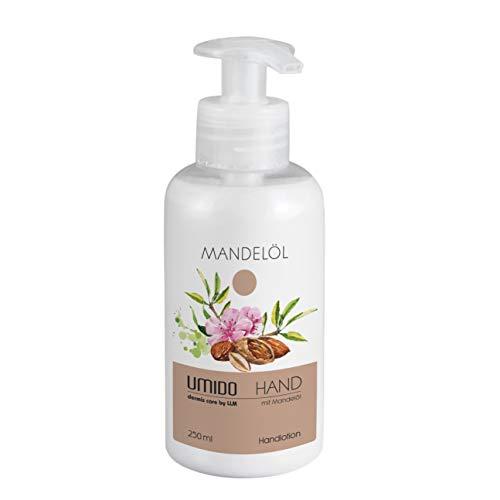 UMIDO Hand-Lotion 250 ml Mandelöl - Handcreme - Pflege-Creme - Lotion aus dem Spender - Hautpflege - 1 x 250 ml (1.)