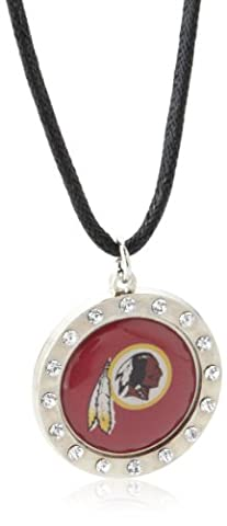 NFL Washington Redskins Crystal Circle Necklace