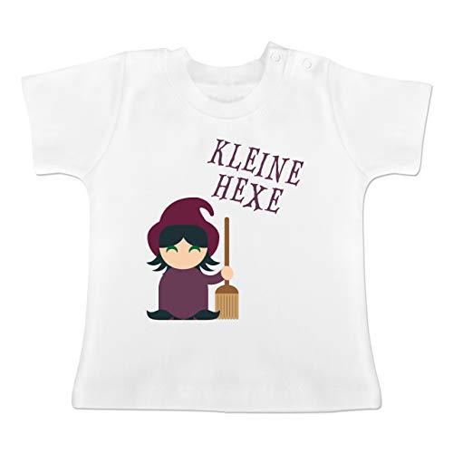18 24 Kostüm Monate Hexe - Anlässe Baby - Kleine Hexe süß - 18-24 Monate - Weiß - BZ02 - Baby T-Shirt Kurzarm