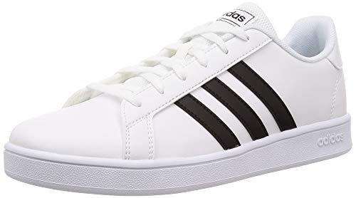 Adidas Grand Court K, Zapatos de Tenis Unisex Niños, FTWR White Core Black FTWR White, 37 1/3 EU