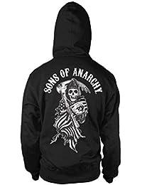 Sons of Anarchy - Sudadera con Capucha - para Hombre