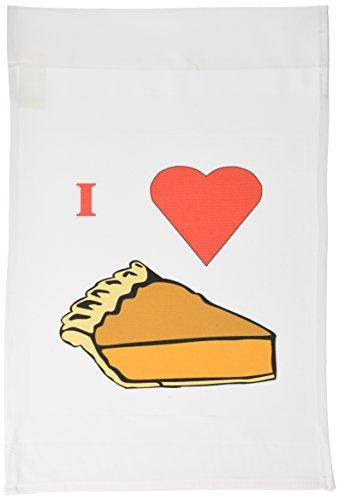 1Ich liebe Pumpkin Pie, Garten Flagge, 12von 18 (Halloween-farbe Durch Zugabe)