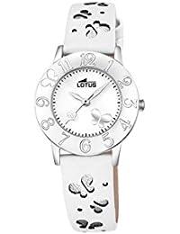 87cd8f8129f7 Lotus Reloj Analógico para Unisex de Cuarzo con Correa en Cuero 18269 1