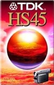 TDK EC-45 HSEN VHS-C Video-Kassette
