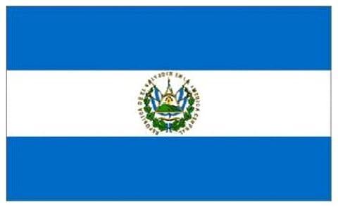 El Salvador National Flag 5ft x 3ft