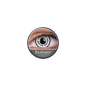 Kontaktlinsen Festive ohne Stärke Phantasee Modell Fancy Lens 14mm Byakugan
