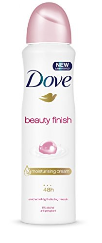 Dove Beauty Finish Desodorante Aerosol 250ml - [Pack de 3]