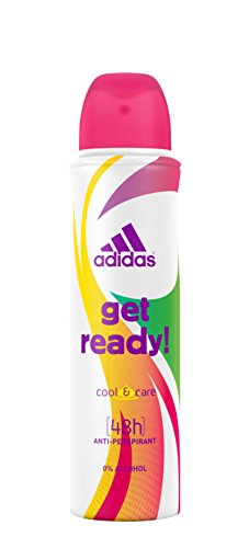 adidas get ready! Anti-Perspirant Deo Body Spray für Damen, 150 ml