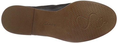 ClarksTaylor Shine - Stivaletti a gamba corta mod. Classics, senza imbottitura Donna Nero (Black Leather)