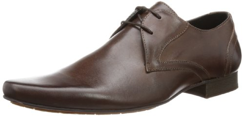 Hudson London LIVINGSTON, Herren Derby Schnürhalbschuhe, Braun (Brown), 44 EU