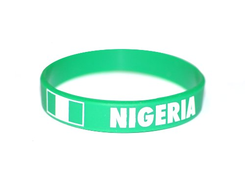 10-x-nigeria-bracelets-silicone-pour-coupe-du-monde-olympiques-wristband