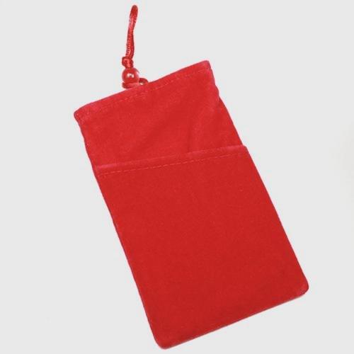 Schutzhülle Tasche Aspekt Velour rot XXL für Samsung Galaxy Z