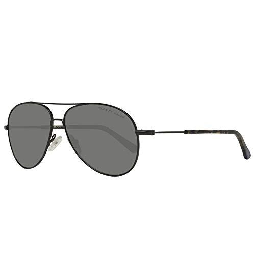 GANT Herren Ga7097 02D 56 Sonnenbrille, Schwarz,
