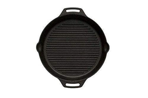 feuerpfanne Petromax Grill-Feuerpfannen mit Rillen am Boden und zwei Henkeln (Ø 35 cm mit 2 Henkeln)