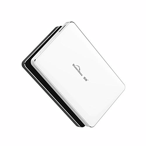 Tragbare Externe Festplatte 2.5 Festplatte 1 TB 2 TB HDD Externes Speicherlaufwerk USB 3.0,White,80GB -