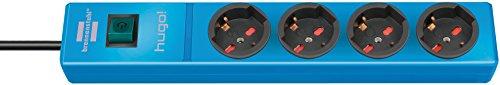 Brennenstuhl 1150615184Steckdosenleiste Modell: Hugo!, blau