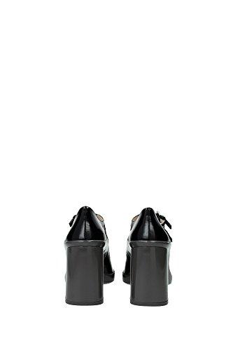 1I204GNEROGRIGIO Prada Sandale Femme Cuir Noir Noir