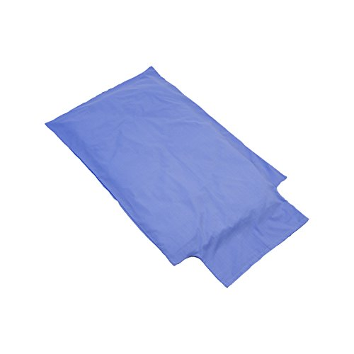 Bricout - Linge - Housse Couette 120X80 Cm Pour Lit Bébé - 100% Coton 140 Gr/M2 - Label Oeko - Tex - Coloris Bleu