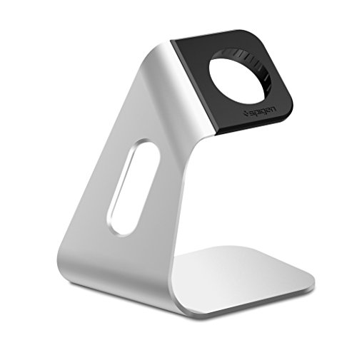 Apple Watch Halterung,  Spigen® Apple Watch Stand [S330] Apple Support Uhr Premium Aluminium - Apple Watch Ladestation, S330 (SGP11555)