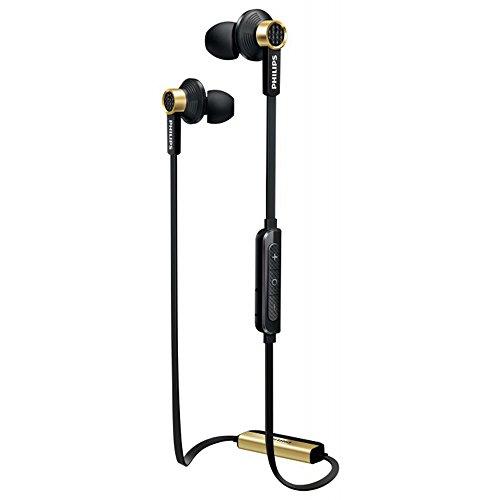 Philips TX2BTBK/00 Bluetooth Stereo  In-Ear Ohrhörer (NFC Kleinbauweise, 13,5mm Treiber) schwarz Bluetooth-kopfhörer Jack