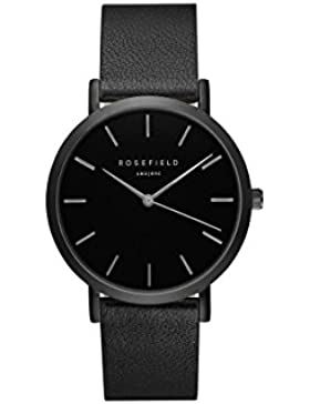 Rosefield Unisex-Uhr Digital mit Lederarmband – GBBB-G38