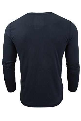 Tokyo Laundry Herren T-Shirt 'Lawton Cove' Mitternachtsblau