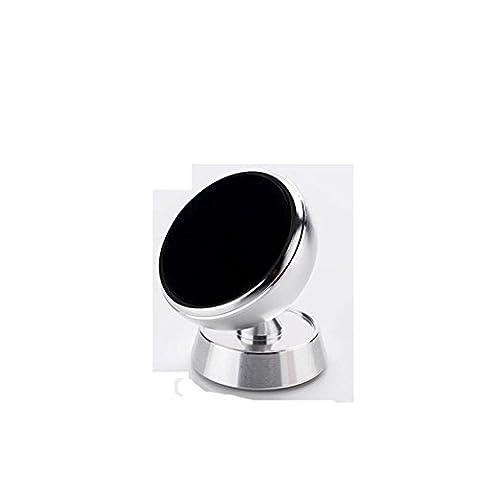 Zgflhq support de téléphone portable en métal Ventouse magnétique Air Conditioner Air Outlet Instrument Desk Multi Fonction Creative à usage général