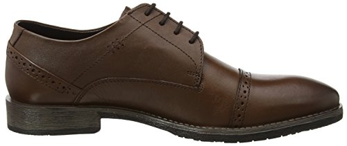 Hush Puppies Craig Luganda, Scarpe Stringate Derby Uomo Marrone (Brown)
