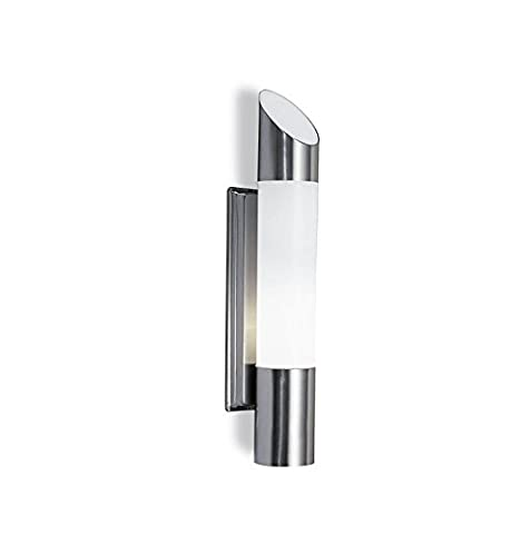 Outdoor Opal Plastic Wall Fixture Nereo, White