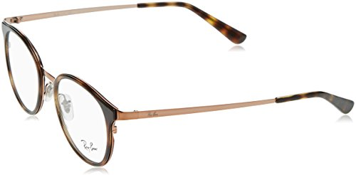 Ray-Ban Damen Brillengestelle 6372M, Schwarz (Negro), 50