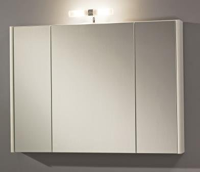 #Zoll Badmöbel Spiegelschrank Dublin 80 800mm x 600mm weiß#