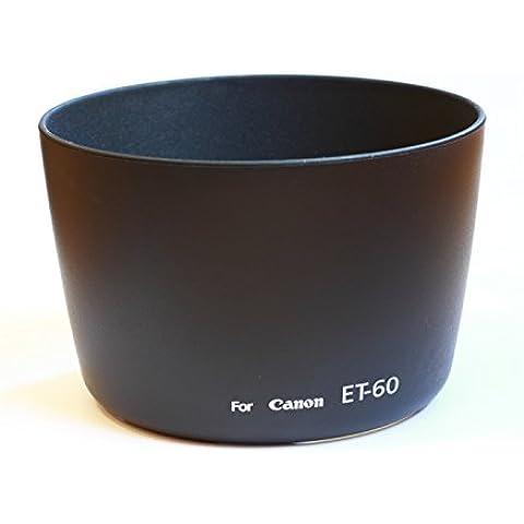 Parasol compatible ET-60 para Canon 75-300, 55-250 (excepto versión STM) ó 90-300 ET60