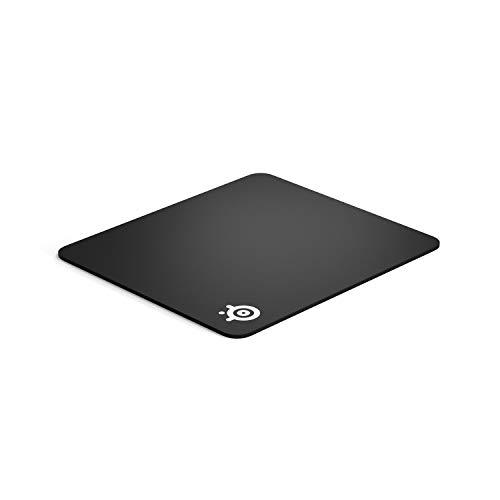 SteelSeries QcK Heavy - Tapis de souris Gaming - 450mm x 400mm x 6mm - Tissu - Base en gomme - Noir
