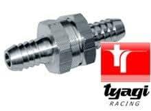 6mm Clapet anti-retour aluminium Essence Diesel Huiles Eau Air Tyagi Racing