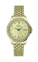 Seiko Reloj de cuarzo del vestido de las mujeres SXDF92(Reacondicionado Certificado)
