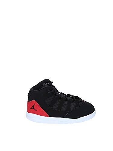 Nike Unisex-Kinder Jordan Max Aura (td) Fitnessschuhe, Mehrfarbig Black/Gym Red 023, 26 EU