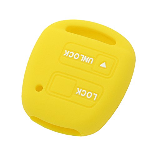 fassport-silicone-cover-skin-jacket-fit-for-toyota-lexus-2-button-remote-key-case-cv2421-yellow
